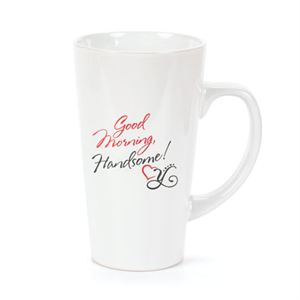 """Picture of """"Good Morning Handsome!"""" Coffee Mug"""
